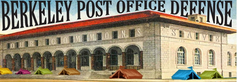 Postal Service Sues Berkeley Over Its Post Office @ Courtroom 8, 19th Floor | San Francisco | California | United States